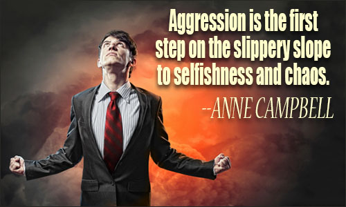 Aggressive Quotes Enchanting Aggression Quotes