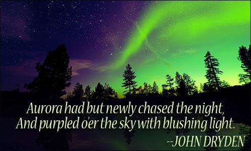 Aurora Borealis quote