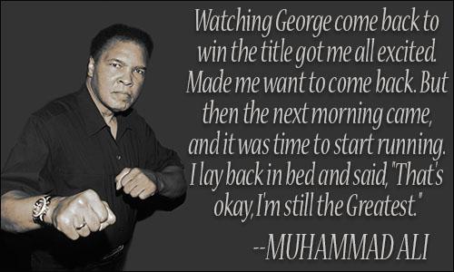 Muhammad Ali Quotes III
