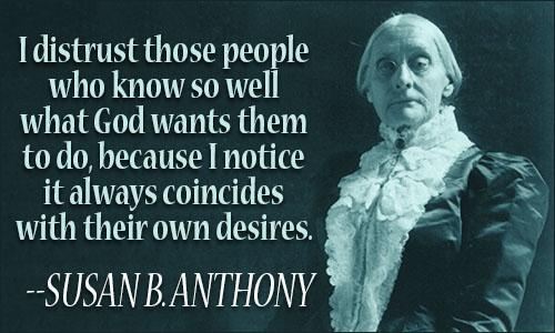 Susan B Anthony Quotes Susan B. Anthony Quotes Susan B Anthony Quotes