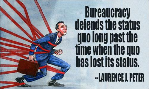 bureaucracy quote
