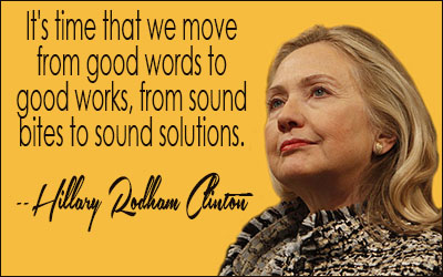 Hillary Clinton Quote Hillary Rodham Clinton Quotes Ii