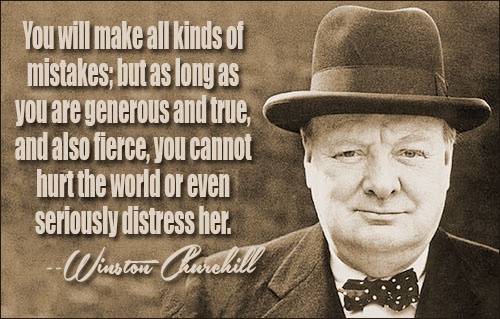 Winston Churchill Love Quotes Cool Winston Churchill Quotes