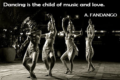 Dancing can reveal all the Quotes About Music And Dance