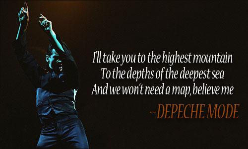 Depeche Mode quote