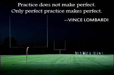 Practice Makes Perfect Craft
