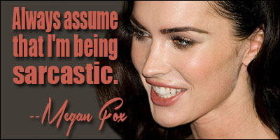 74b27305e Megan Fox Quotes