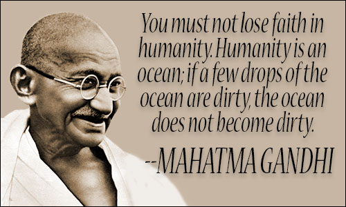 Ghandi Quote Awesome Mahatma Gandhi Quotes