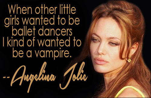 Angelina Jolie Is