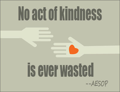 Quote About Kindness Awesome Kindness Quotes