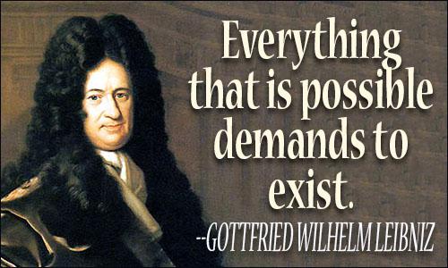 Gottfried Wilhelm von Leibniz Quotes