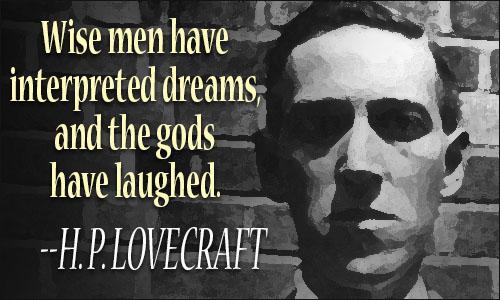 H  P  Lovecraft quote    H.p. Lovecraft Quotes