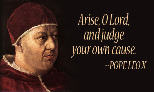 Leo Quotes   Pope Leo X Quotes