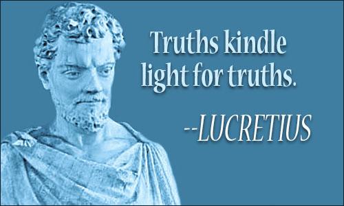 Lucretius Quote. «