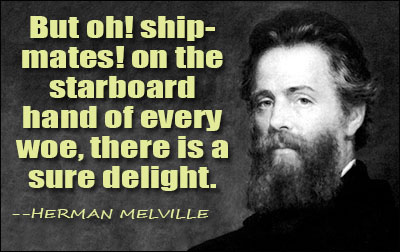 an analysis of the portent by herman melville