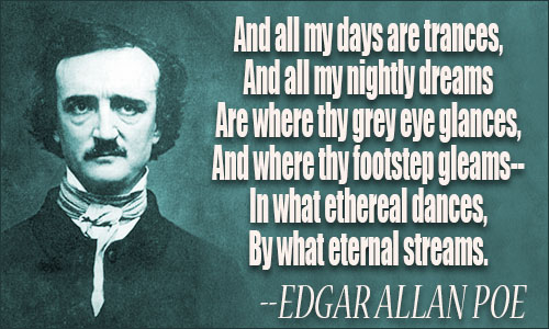 Edgar Allan Poe Quotes Mesmerizing Edgar Allan Poe Love Quotes