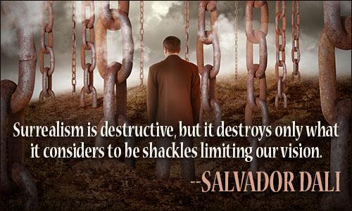 10 Surrealistic & Iconic Salvador Dali Quotes | EliteColumn  |Surreal Art Quotes